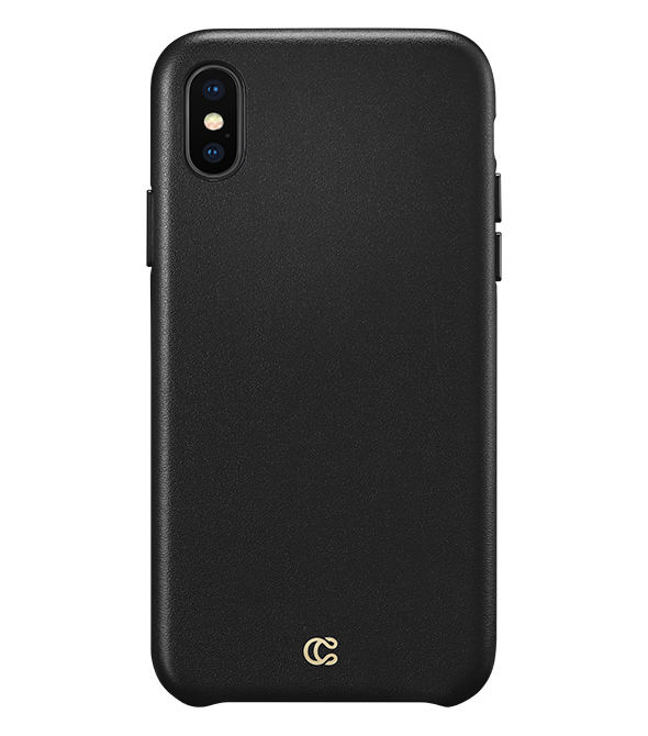 Smooth Leather Black - iPhone XS/X