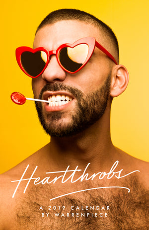'Heartthrobs' 2019 Calendar by Warrenpiece