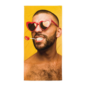 Heartthrob Beach Towel