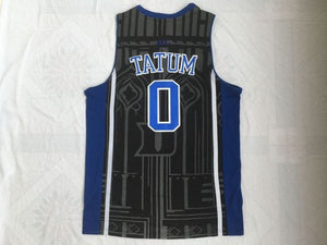 Jayson Tatum Basketball Jersey Duke University Blue Devils Throwback  Stitched Embroidery Retro High Quality 19375f8b2