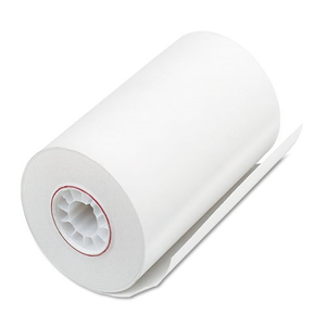 "4 1/4"" x 92' Premium BPA Free Heavy Thermal Paper Rolls (Box of 50)"