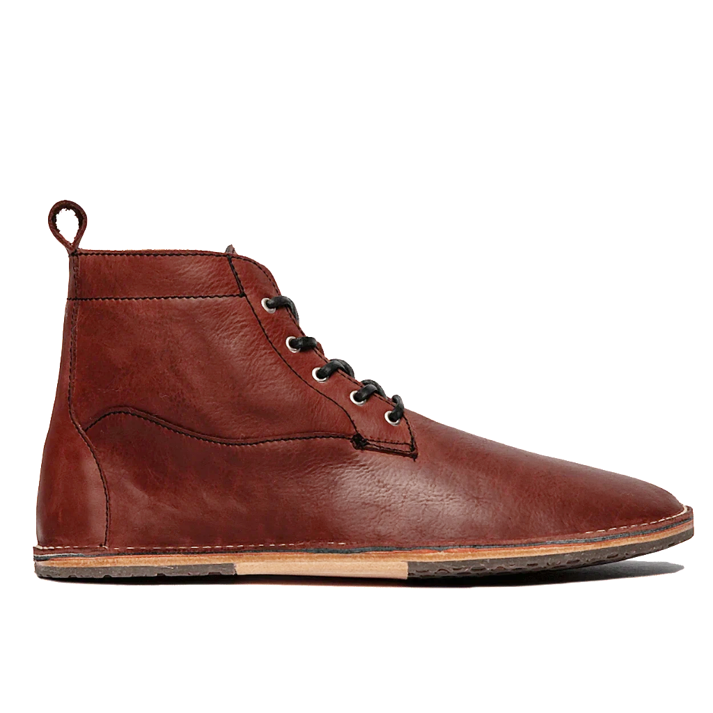 Lapworth - Wax Ox Blood - DAVINCI FOOTWEAR