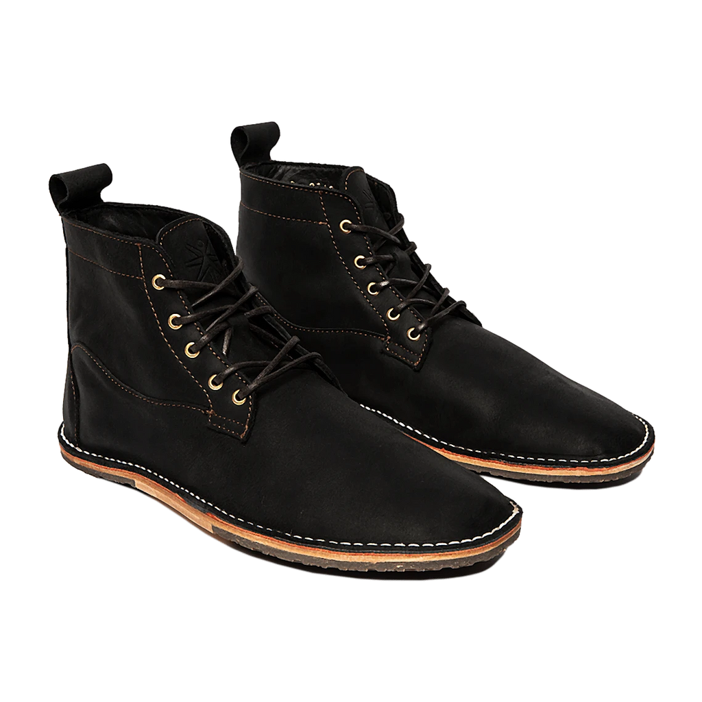 Lapworth-Wax Black - DAVINCI FOOTWEAR