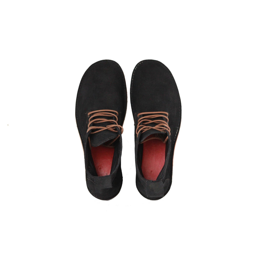 Lapworth - Antique Black Suede - DAVINCI FOOTWEAR
