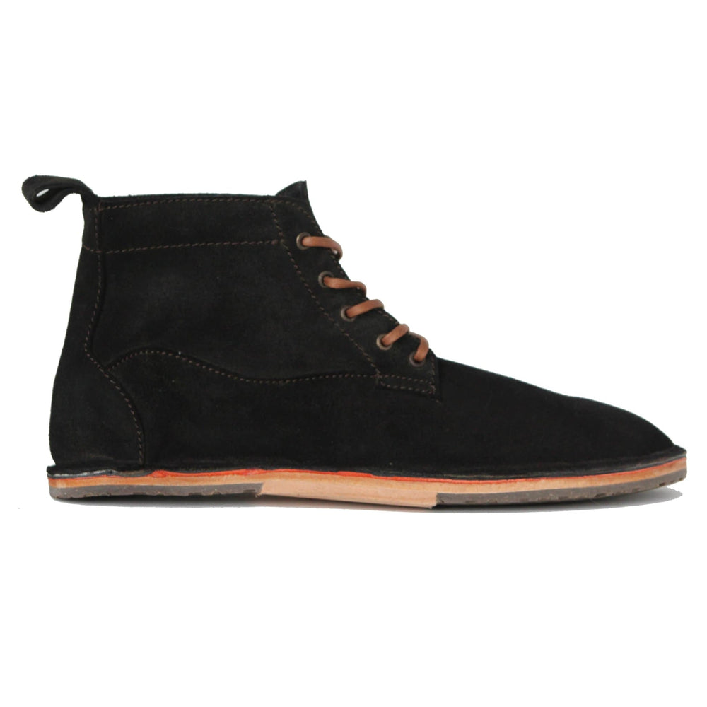 Load image into Gallery viewer, Lapworth - Antique Black Suede - DAVINCI FOOTWEAR