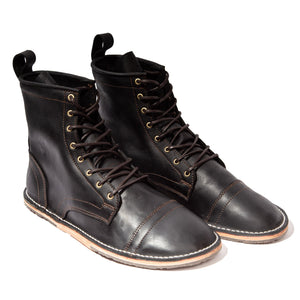 Mohawk - Wax Black - DAVINCI FOOTWEAR