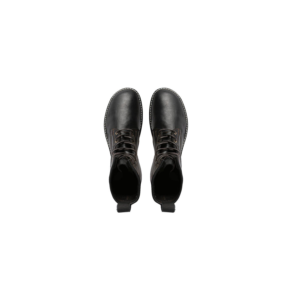 Load image into Gallery viewer, Primavera - Wax Black - DAVINCI FOOTWEAR