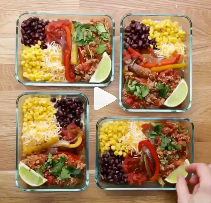 Turkey Taco Bowls