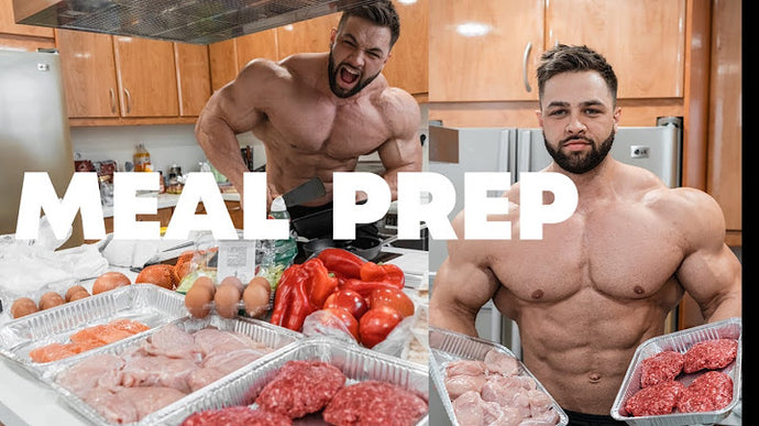 MUSCLE BUILDING MEALS | HOW TO MEAL PREP & GROCERY SHOPPING!