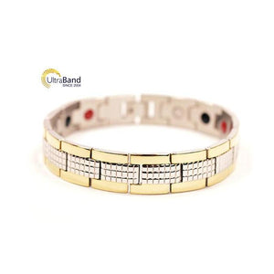 Overman: Gold - Magnetic Therapeutic Bracelet | Ultrabandusa