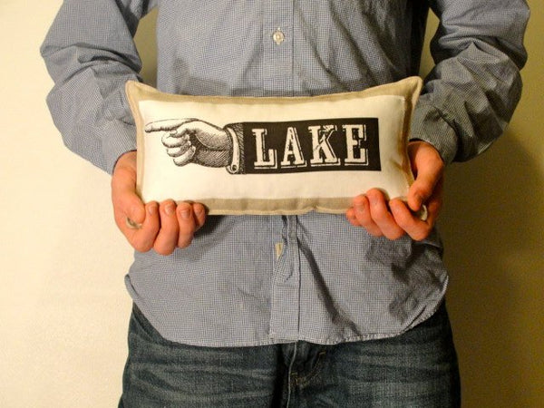 LAKE petite pillow