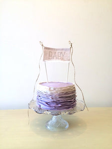 BABY - cake topper