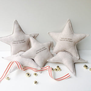 STAR petite pillow decoration