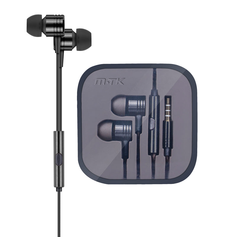 MTK Premium Earphones Black