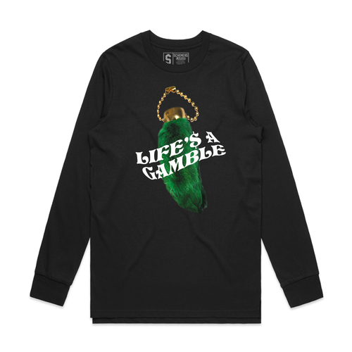 Life's a Gamble (Black Long Sleeve)