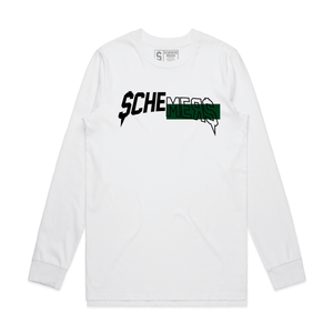 Schemers All In (White Long Sleeve)