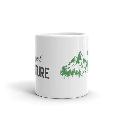 """Life Is A Great Adventure"" Mug"