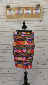 Cassie Skirt - Stripes - XS