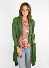 Dusty Miller Cardigan - Green - (L)