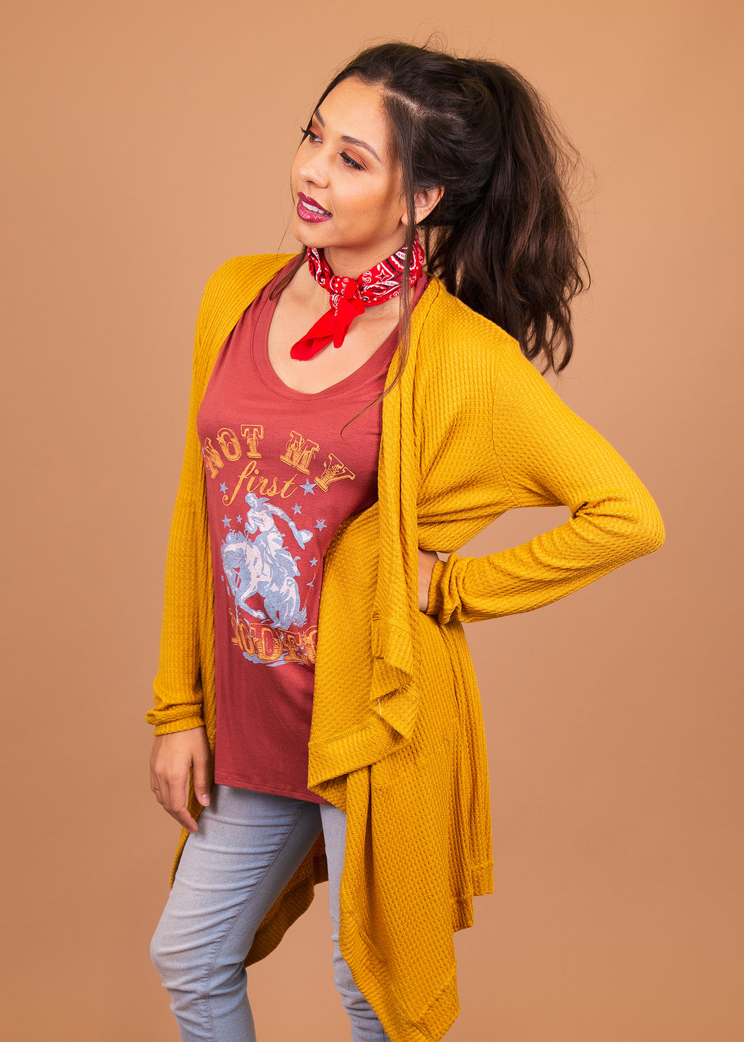 Dusty Miller Cardigan - Yellow - (L)