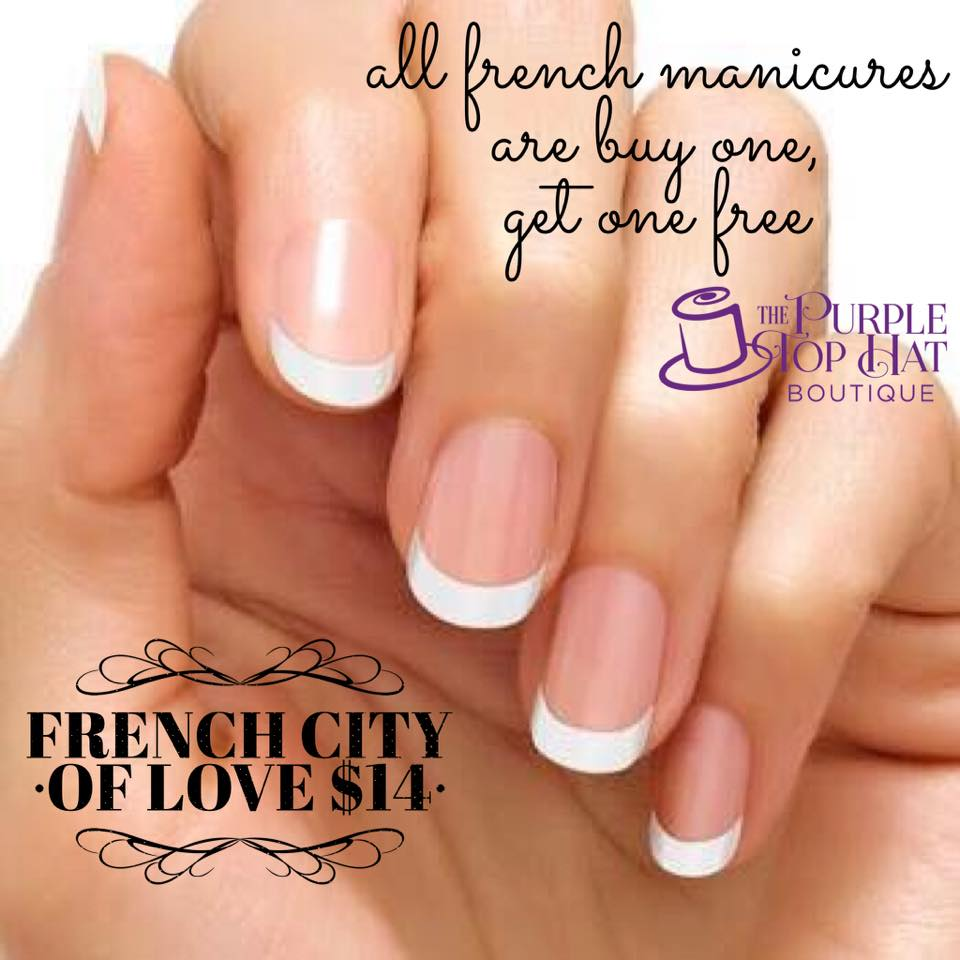 French Manicure - City of Love