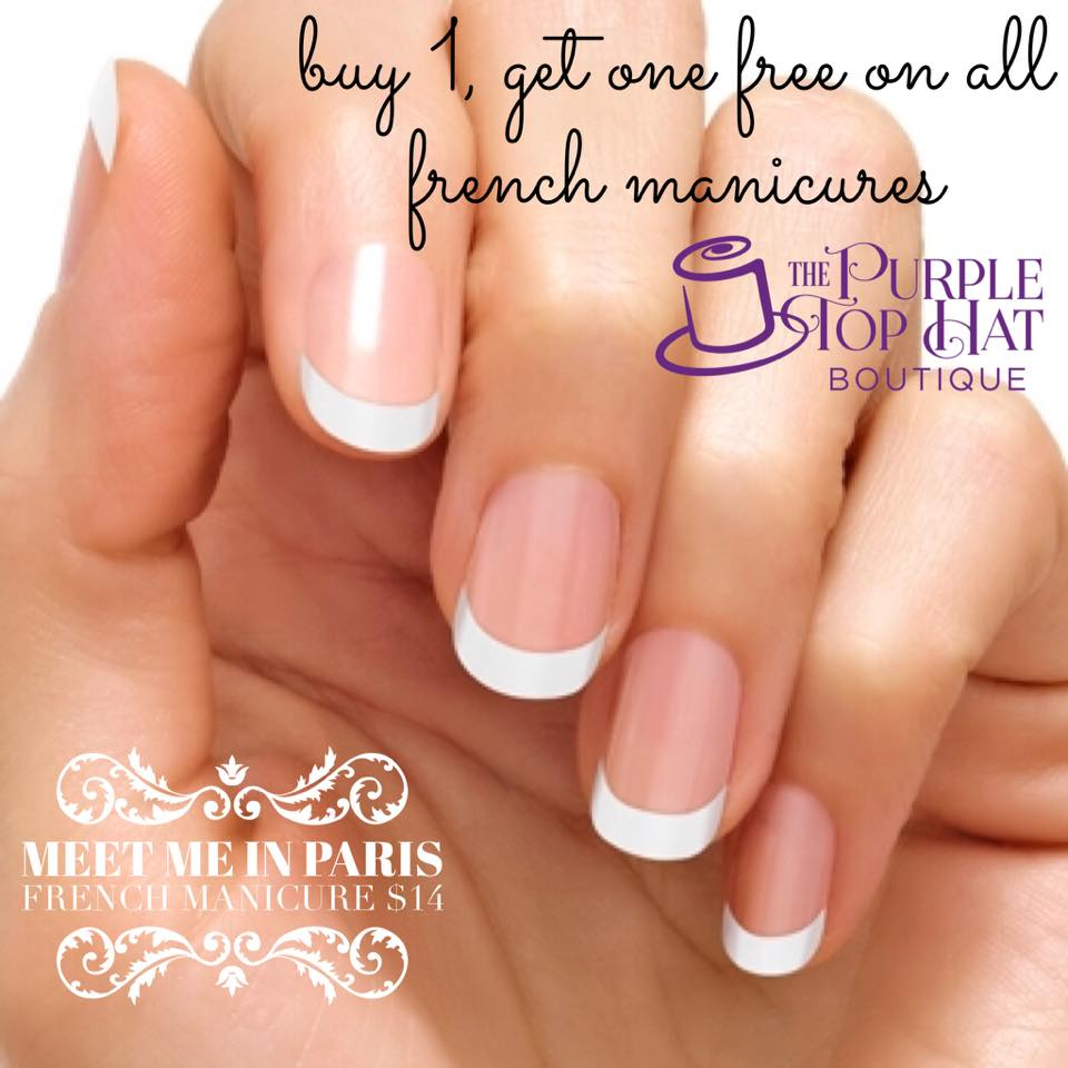 French Manicure - Meet Me In Paris