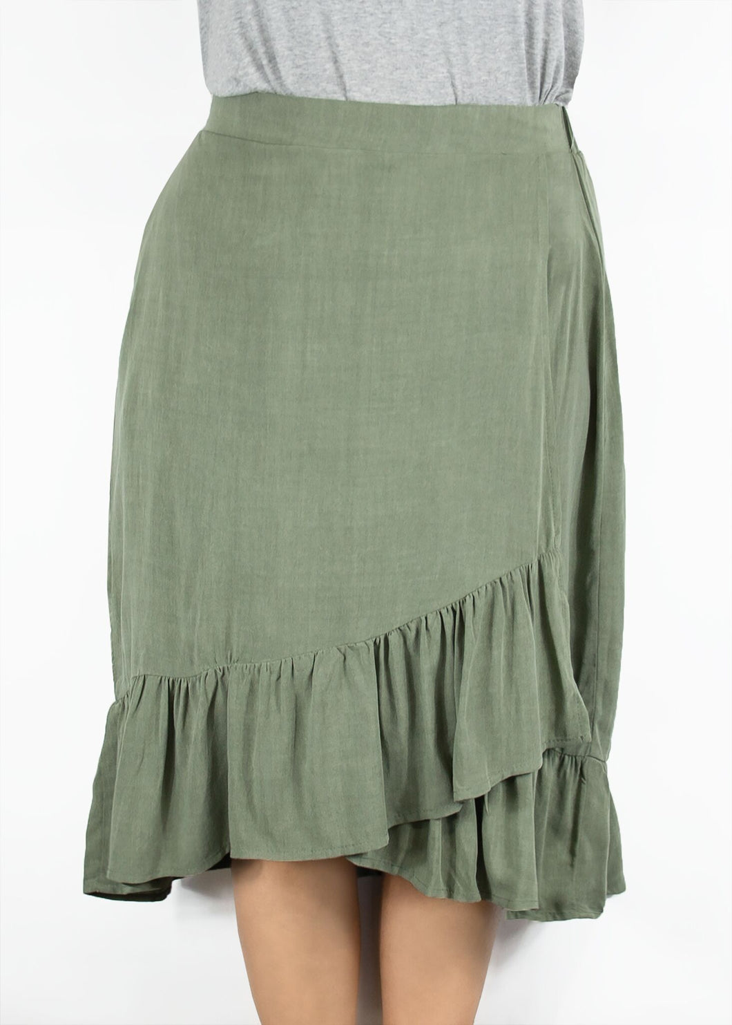 Kerria Skirt - Green - (L)