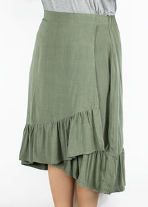 Kerria Skirt - Green - 0X