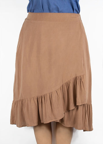 Kerria Skirt - Tan - XL