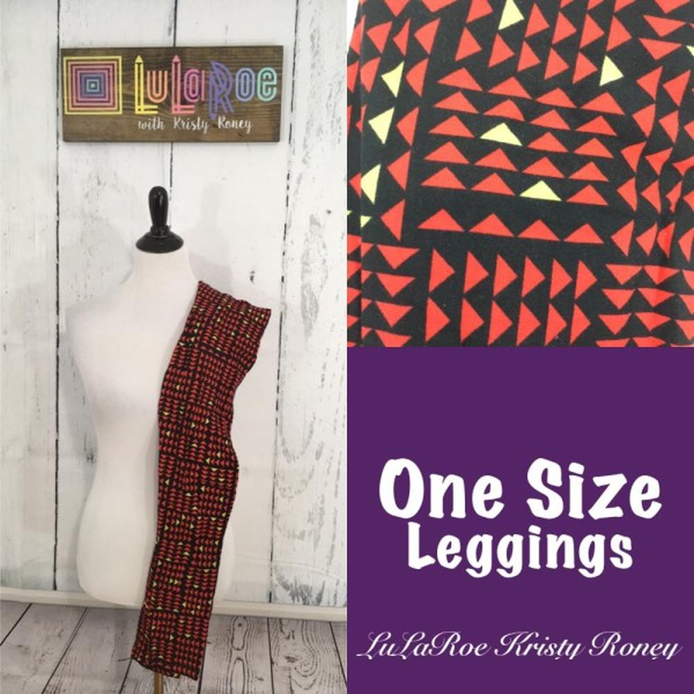 One Size Leggings - Triangles