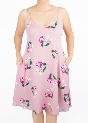 Lily Cami Dress - Floral - (S)
