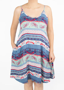 Lily Cami Dress - Paisley - (S)