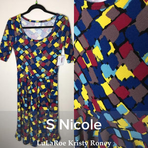 Nicole Dress - Confetti - S