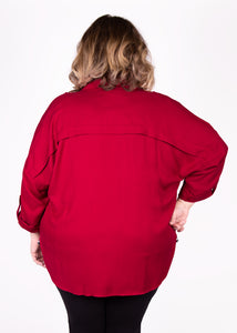 Shacket - Red - (3X)