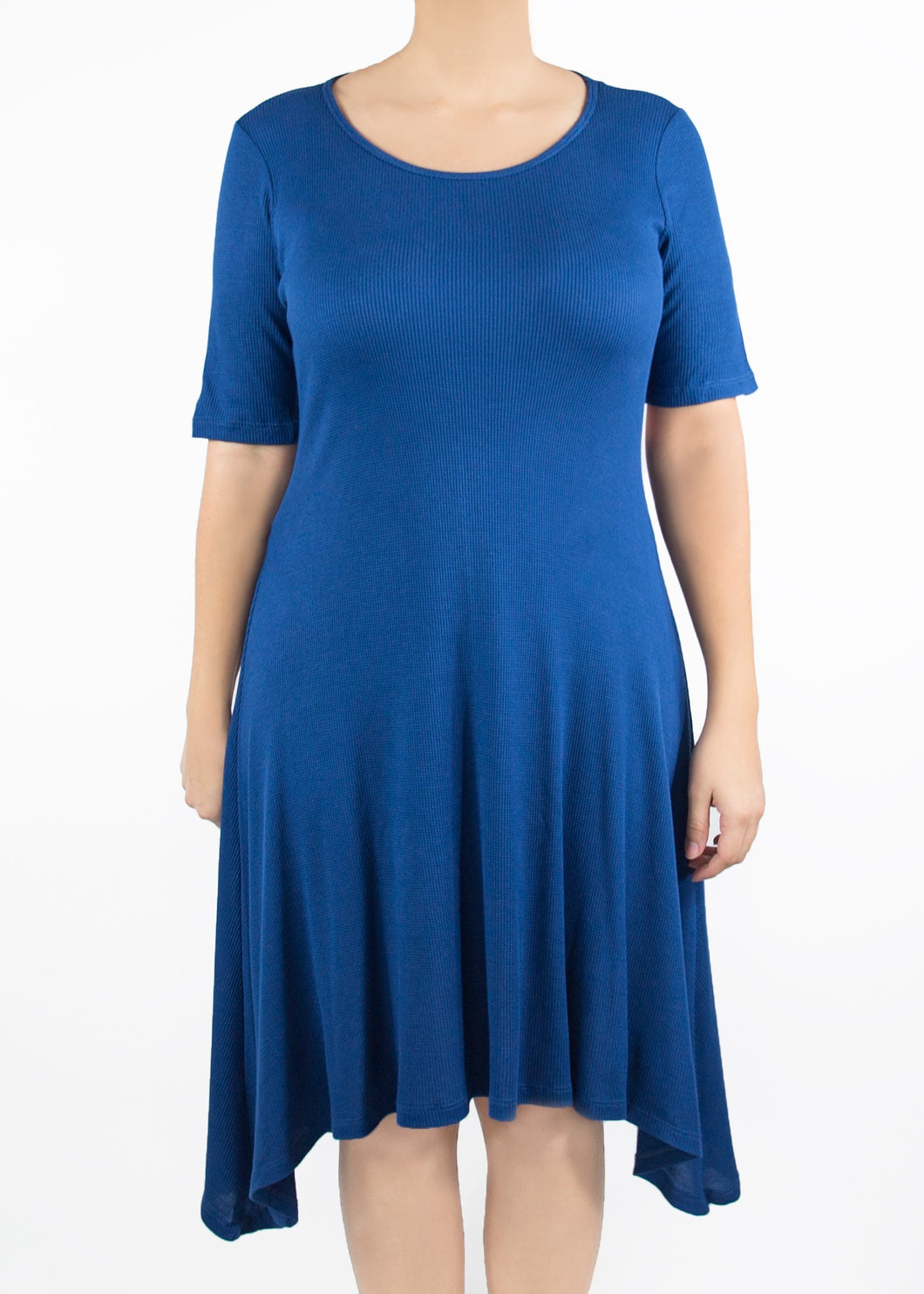 Poppy Dress - Blue - (1X)