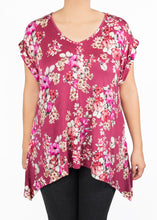Tulip Tee - Floral - (2X)