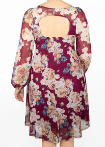 Aster Dress - Floral - (XL)