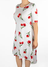 Poppy Dress - Polka Dot Floral - (L)