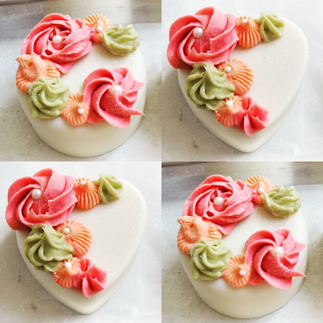 Flower Bouquet Soap Cake