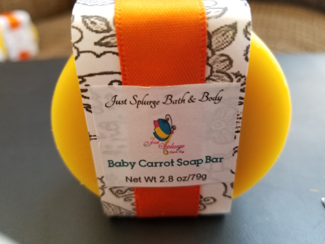 Baby Carrot Soap Bar