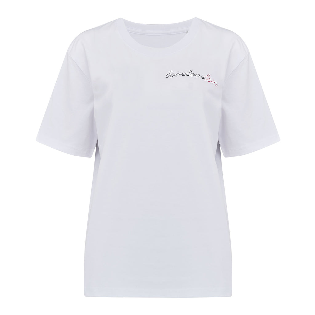 'lovelovelove' Boyfriend Tee