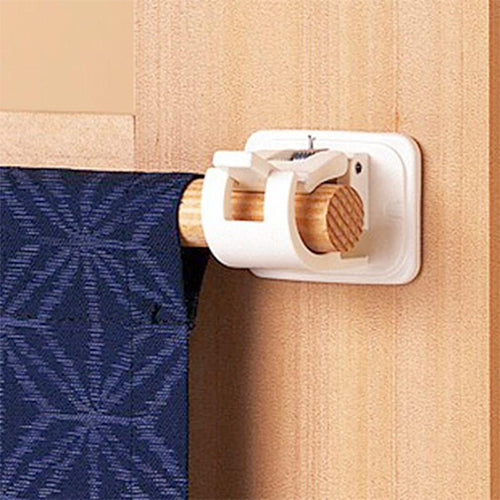 Magic Adjustable Curtains Organized Storage Rack Hook