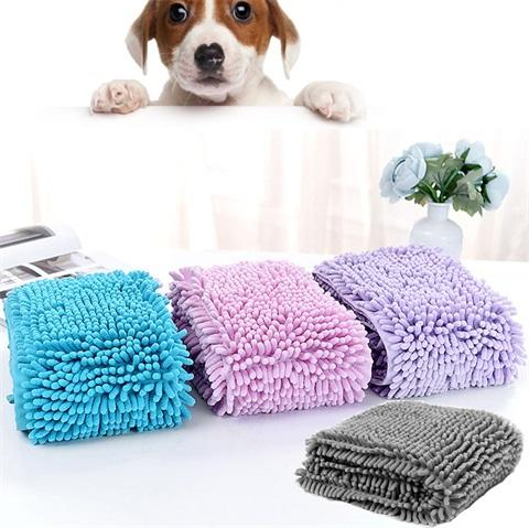CHENILLE PET TOWEL