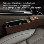 Wireless Charging Car Storage Box