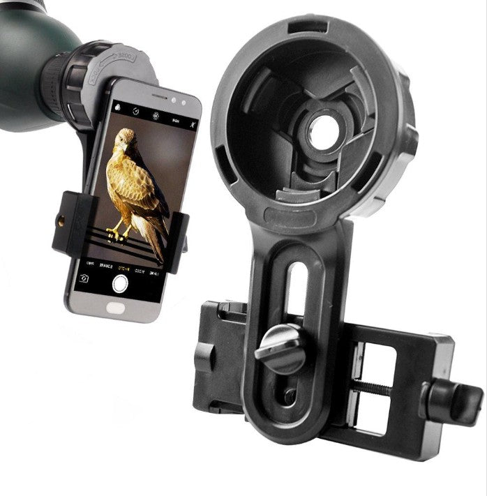 ONLY $19.99 TODAY!Telescope Binocular Quick Phone Mount