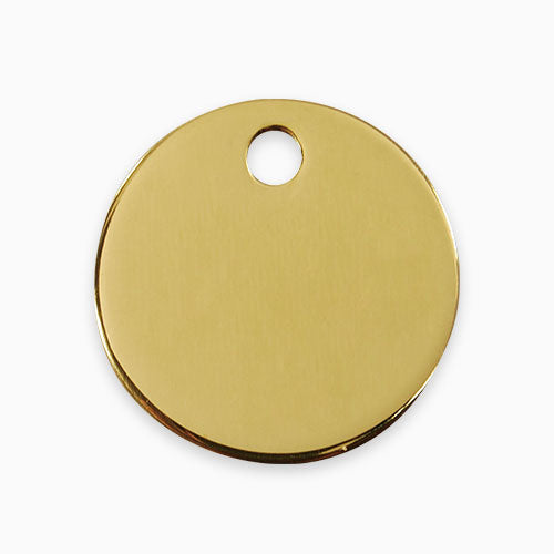 Brass Tag Circle