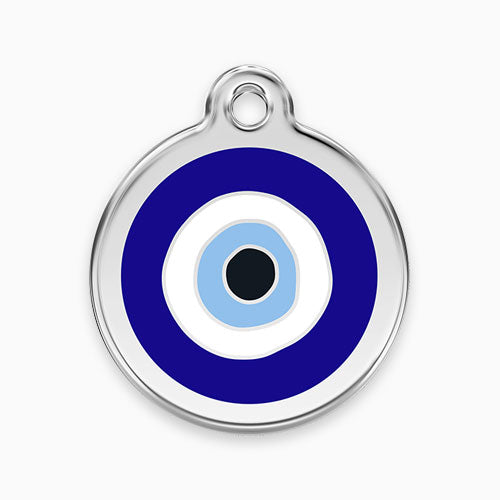 Enamel Tag Evil Eye