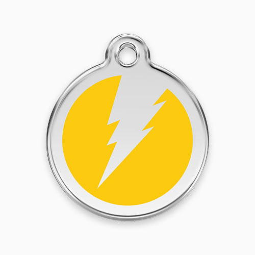 Enamel Tag Flash (11 colours)