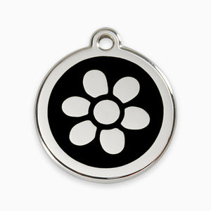 Enamel Tag Flower (11 colours)