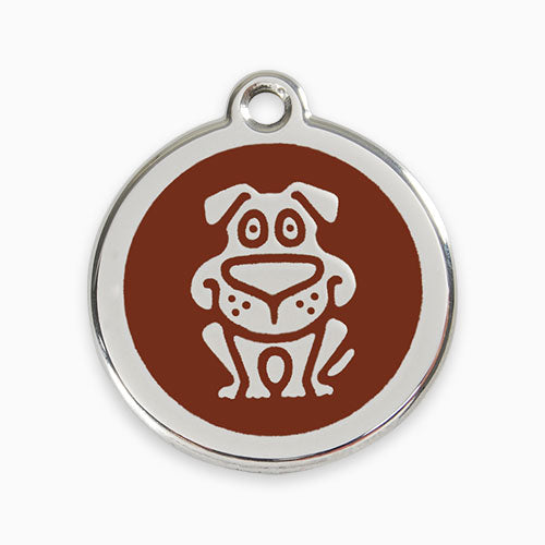 Enamel Tag Dog (11 colours)